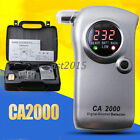 NEW AlcoMate Professiona CA 2000 Digital Alcohol Detector Breathalyzer with Case