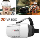 NEW VR BOX Headset Virtual Reality 3D VR Goggles Glasses For iPhone Samsung US