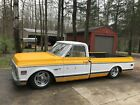 """1972 Chevrolet C-10  """"Rat Rod"""" Style Pickup Lowered on Air Ride"""