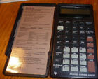 Working Texas Instruments BAII Plus Advanced Business Analyst w/Slip Cover