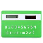 "Solar Powered 1.0"" LCD 8-Digit Ultra-Thin Pocket Card Calculator"