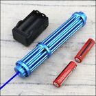 NBE3-II-A Powerful Blue Laser Pointer 450nm Burn Matches Light Cigarettes 5 Caps