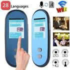 Portable Wireless WiFi Smart 2 Way Real Time 28 Languages Voice Translator SIM