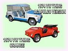 1974 Volkswagen Thing ACAPULCO two 1974 Volkswagen Things, a RARE ACAPULCO VERSION and an ORANGE THING ,