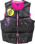 Fly Racing Neoprene Womens Life Vest Black/Pink