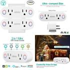 Wifi Smart Plug Socket Works With Alexa Echo/Google Home/Ifttt, Slitinto Dual Mi