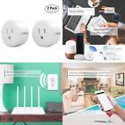 Lumiman Smart Plug Works With Alexa, Wifi Outlet Plug Mini SmartSocket Works W