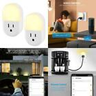 【New Version】Criacr Wifi Smart Plug Outlet Mini Socket With Night Light  Ener
