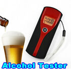 Home Blow Alcohol Breath Tester Measures Blood Alcohol LCD Display Breathalyzer