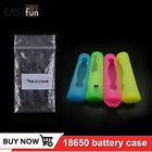 Hot 20pcs veeape 18650 battery silicone case cover protective sleeve F -DL