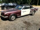1966 Ford Mustang  1966 Ford Mustang Convertible C Code