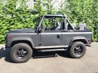 1997 Land Rover Defender Matt Black wrapped LAND ROVER 1997 DEFENDER D90- perfectly maintained