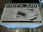 AMCOR HEPA-AIR Grey V7236 IONIZER With HEPA Filter NEW IN BOX personal / office