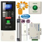 Fingerprint RFID Access Control System Set + 280KG Waterproof Magnetic Lock