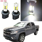 2Pcs 880 881 HID White 7.5W COB LED Fog Lights For Chevrolet Silverado 1999-2002