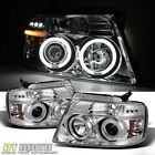 04-08 Ford F150 F-150 CCFL Halo Projector Led Headlights Lamps Lights Left+Right
