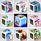 Frozen Minnie Mickey Color Changing LED Alarm Clock Digital Termometer Display