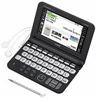 NEW Casio Electronic Dictionary EX-word XD-K6700BK Black Learn Japanese Japan