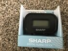 Sharp Compact Alarm Clock- SPC538A (Black)