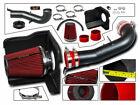 RTunes V2 Heat Shield Air Intake Kit +Filter For 07-08 Escalade Avalanche V8