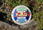 VINTAGE ENAMEL AUTOMOBILE CAR CLUB BADGE # PORSCHE 356 REGISTRY 1999