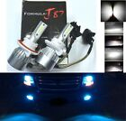 LED Kit C6 72W 9008 H13 10000K Blue Two Bulbs Head Light Replacement Snowmobile