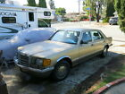 1986 Mercedes-Benz 300-Series 300SDL Turbo Diesel 1986 Mercedes 300SDL Turbo Diesel 6 Cylinder W126 Chassis