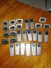 Lot of 14 Philips 9400i digital recorders with 13 philips 9110 bases free ship!