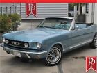1965 Mustang Convertible A Code 1965 Ford Mustang Convertible A Code 64569 Miles Blue