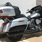 D&D Black Diablo Gato 2:1 Fish Mouth Full Exhaust System Harley Touring 09-16