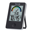 Home Room Temperature Thermometer Hygrometer Humidity Monitor Level Gauge Meter