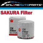 Sakura Oil Filter C1122 - alternate to Ryco Z89A