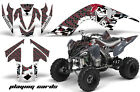ATV Graphics Kit Quad Decal Sticker Wrap For Yamaha Raptor 700 06-12 CARDS RED
