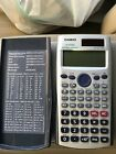Casio fx-115ES Scientific Calculator Natural Textbook Display Algebra Solar