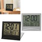 US Large Display Number Lcd Clocks Travel Alarm Clock Thermometer Timer Calendar