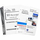 Cessna A185F 1979 Pilot's Information Manual (part# D1144-13) Reproduction