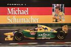 Ferrari F1 Michael Schumacher Early Orig Car Poster Extremely Rare! Own It!!