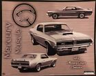 """1969 Mercury Cougar Eliminator History 8"""" X 10"""" Car Poster Own It! Very Rare!"""