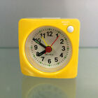 Travel Alarm Clock with Snooze Battery Operated Bedsides Alarm Clock Yellow
