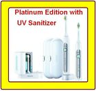 NEW 2 Philips Sonicare HealthyWhite Toothbrush HX6733/90 Platinum Edition