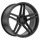 Beyern Gerade 17x8 +15 Matte Black Wheel Rim 5x120 (QTY 1)