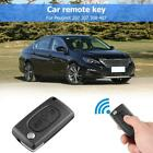 433MHz ID46 Chip 2 Button Car Folding Remote Key Fob for Peugeot 207 307 308 407