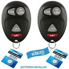 2x Replacement Remote Keyless Entry Key Fob Control for Pontiac Buick L2C0007T