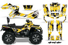 ATV Graphics Kit Decal Wrap For CanAm Outlander Max 500/800 2006-2012 STSTAR YLW