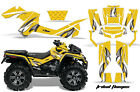ATV Graphics Kit Decal Wrap For CanAm Outlander Max 500/800 2006-2012 TRIBAL W Y