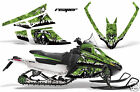 Snowmobile Graphics Kit Decal Wrap For Wrap Arctic Cat F Series Z1 REAPER GREEN