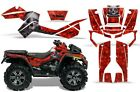 ATV Graphics Kit Decal Sticker Wrap For Can-Am Outlander XMR 500/800 BONES RED