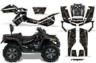 ATV Graphics Kit Decal Wrap For CanAm Outlander Max 500/800 2006-2012 REAPER BLK
