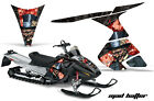 Snowmobile Graphics Kit Decal Sticker Wrap For Ski-Doo RT 2005-2009 HATTER R K