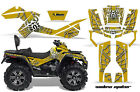 ATV Graphics Kit Decal Wrap For CanAm Outlander Max 500/800 2006-2012 WIDOW S Y